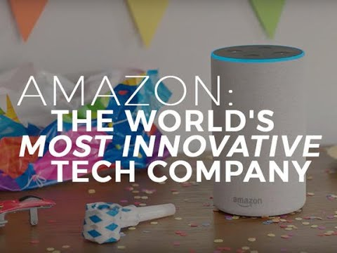 Why Amazon is the world's most innovative tech company - for now