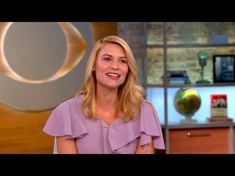 "Claire Danes talks ""Homeland"" and ""overdue"" #MeToo movement"