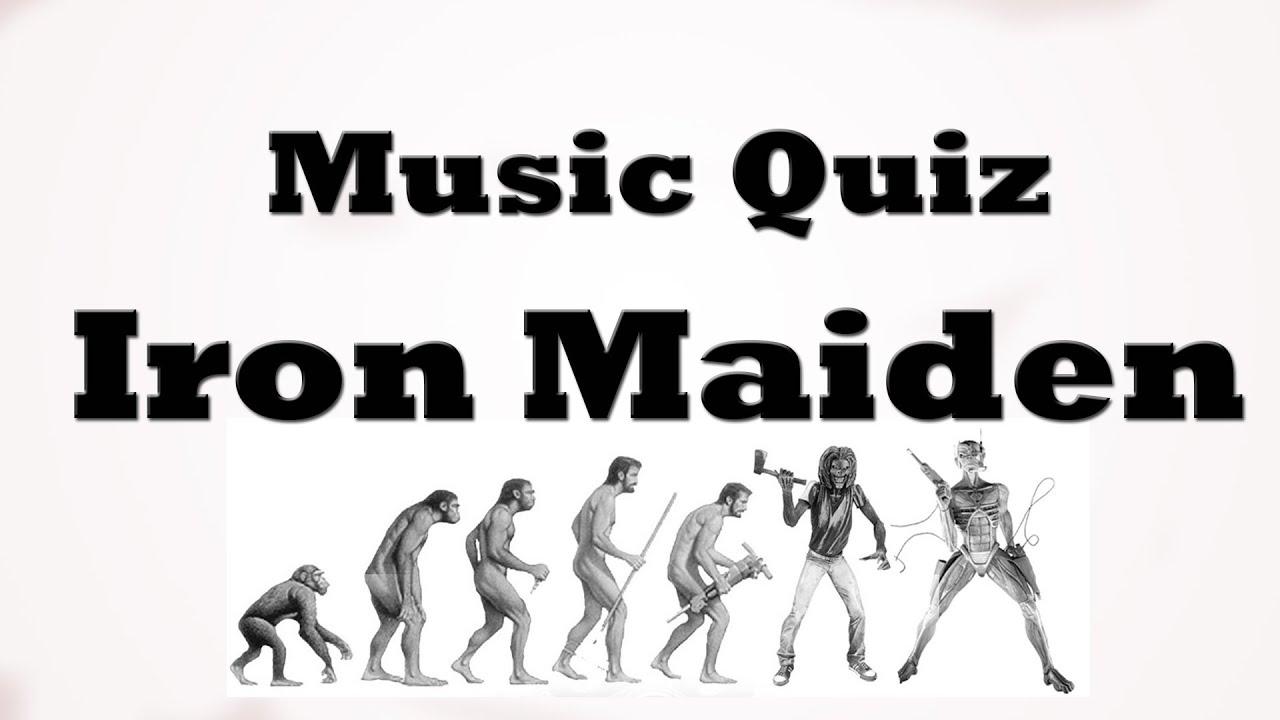 Music Quiz - Iron Maiden - YouTube