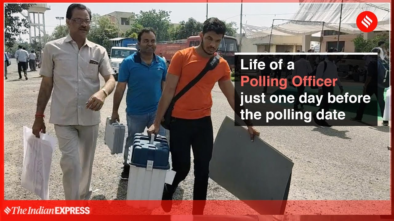 Lok Sabha Elections 2019: Life Of A Polling Officer Just Before The Polling Day