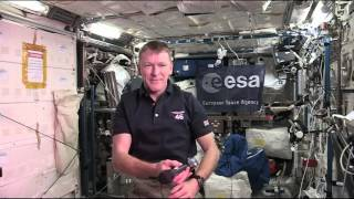 Newly Arrived Space Station Crew Member Talks with British Media