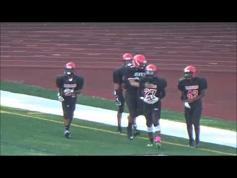 middle school football highlights qbasic