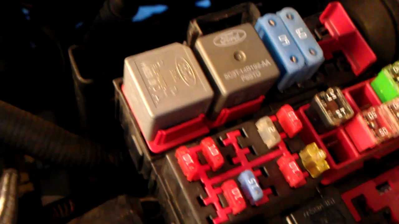 Shop Update 10 12 2012 Ficm Diagnosis 60l 2006 F 350 Youtube Volt Horn Relay Wiring Diagram