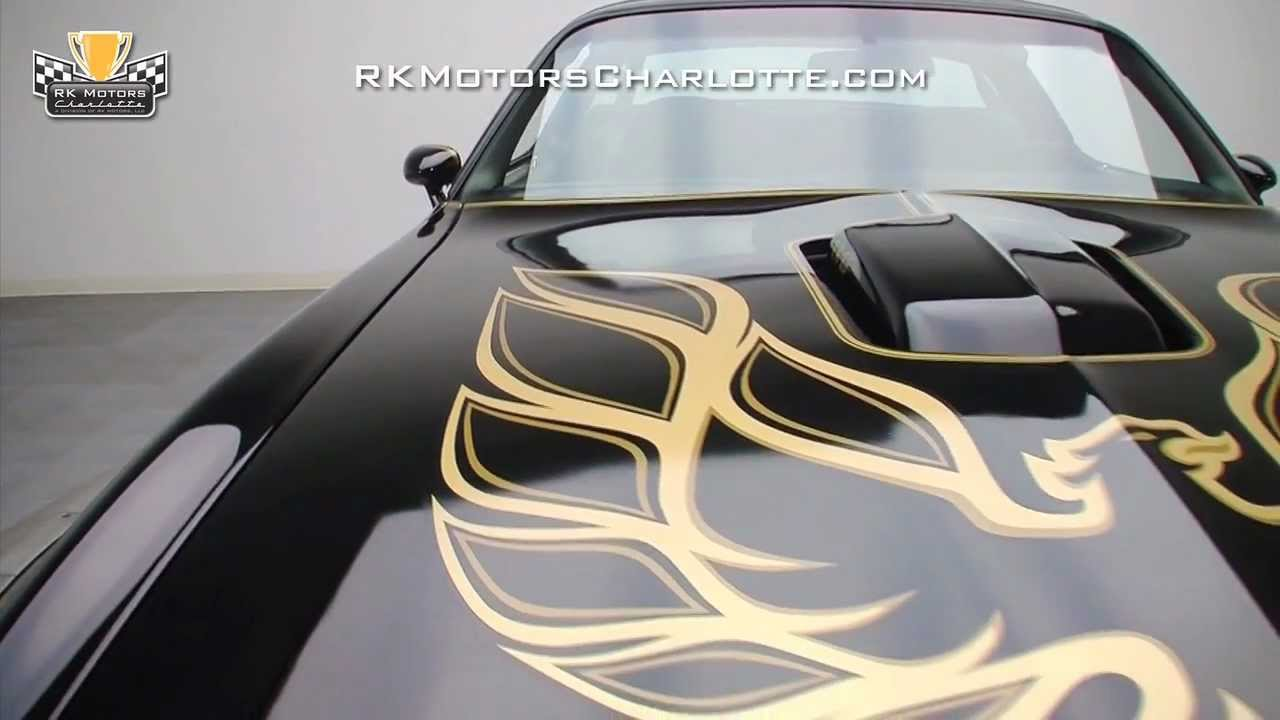 Watch on pontiac firebird hood