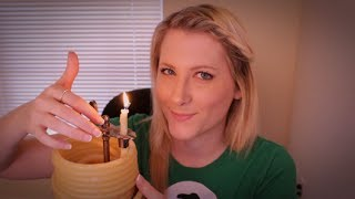 Thrifty Tingles: Candle by the Hour and Chinese Abacus - ASMR - Soft Spoken, Tapping, Bead Sounds