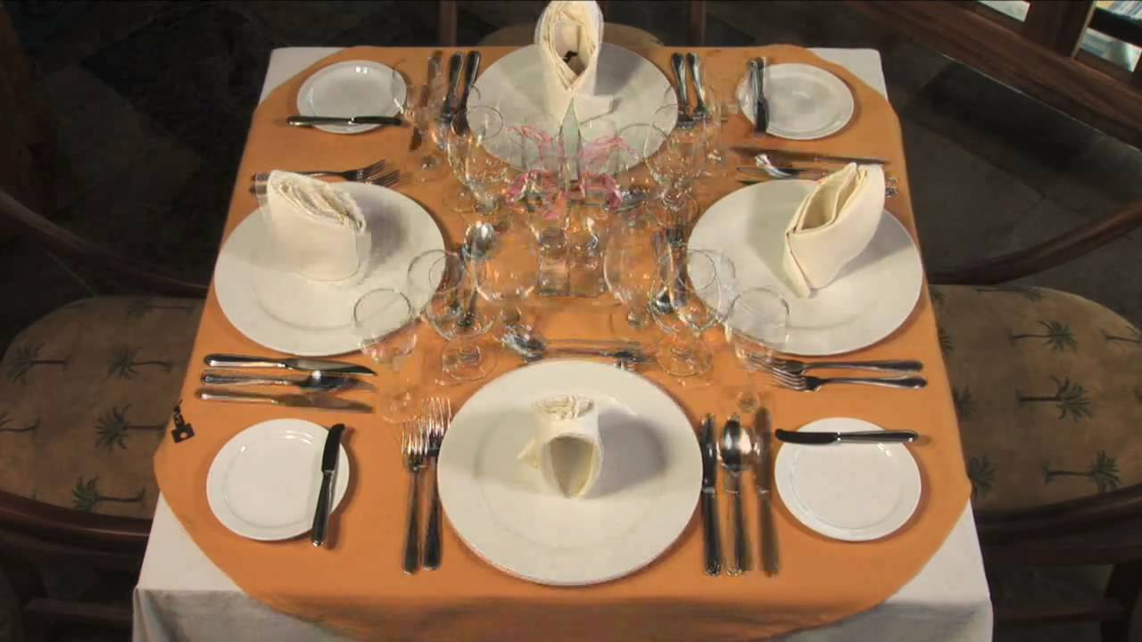 Mesa Decorada Sencilla