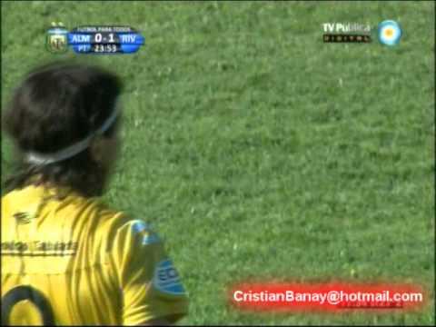 Almirante Brown 1 River 1 Torneo Nacional B 2011-12 Los goles (Relato Mariano Closs)