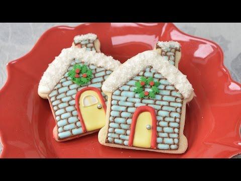 Christmas House Cookies Haniela S