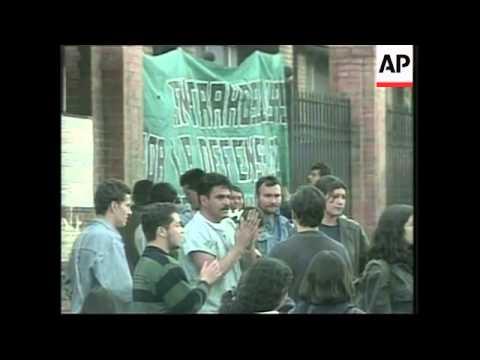 COLOMBIA: BOGOTA: NATIONAL STRIKE WRAP