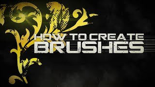 How to create a brush in Adobe Photoshop CC! (BRUSHES AT 3000 LIKES!)