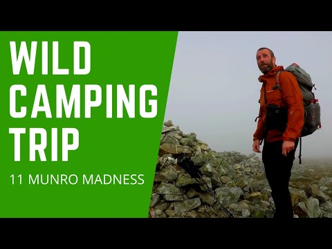 Hillwalking & Wild Camping  - Scottish Mountain Madness - 11 Munros Over 36 Hours