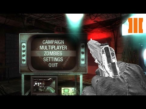 BO1 INTERROGATION ROOM ZOMBIES IN BO3! Call of Duty Black Ops 3 Zombies Mod Gameplay