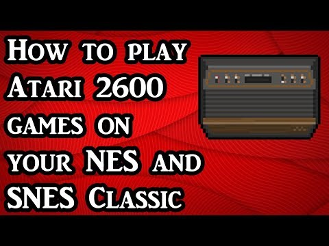 How To Play Atari 2600 Games On Your NES And SNES Classic (Tutorial)