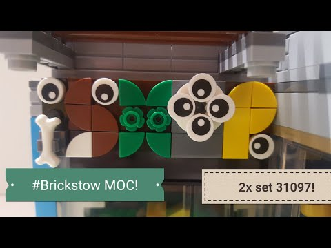New Brickstow Moc - IShop Convenience Store!