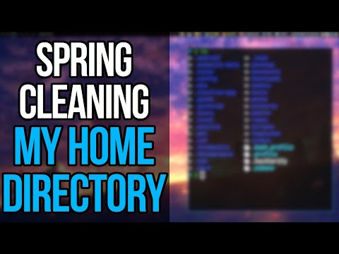 Declutter Your Home Directory With The XDG Base Directory