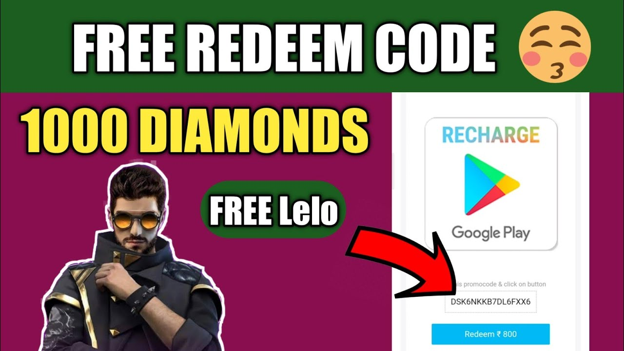 How to get free Google redeem code | Free Fire Redeem codes Free | Redeem code trick-2 | Nazim Gamer