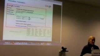 "Google Brussels TechTalk ""Internet Privacy"""