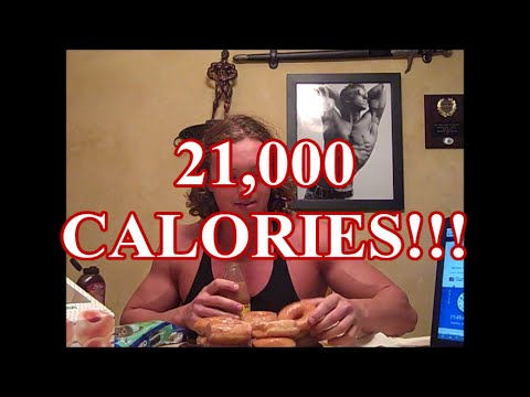 21,000 Calories Cheat Day! BeastAesthetics