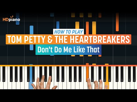 """How To Play """"Don't Do Me Like That"""" by Tom Petty 
