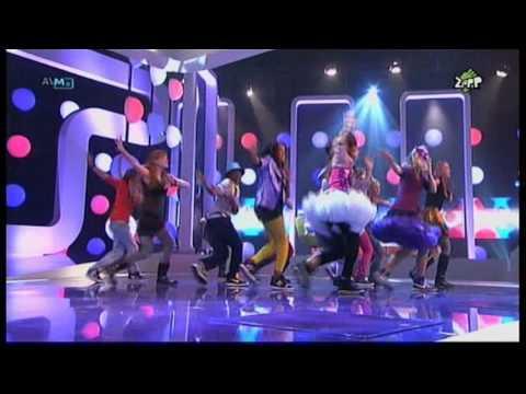 Finalisten jsf 2009 zingen Morgen is vandaag 1e halve finale