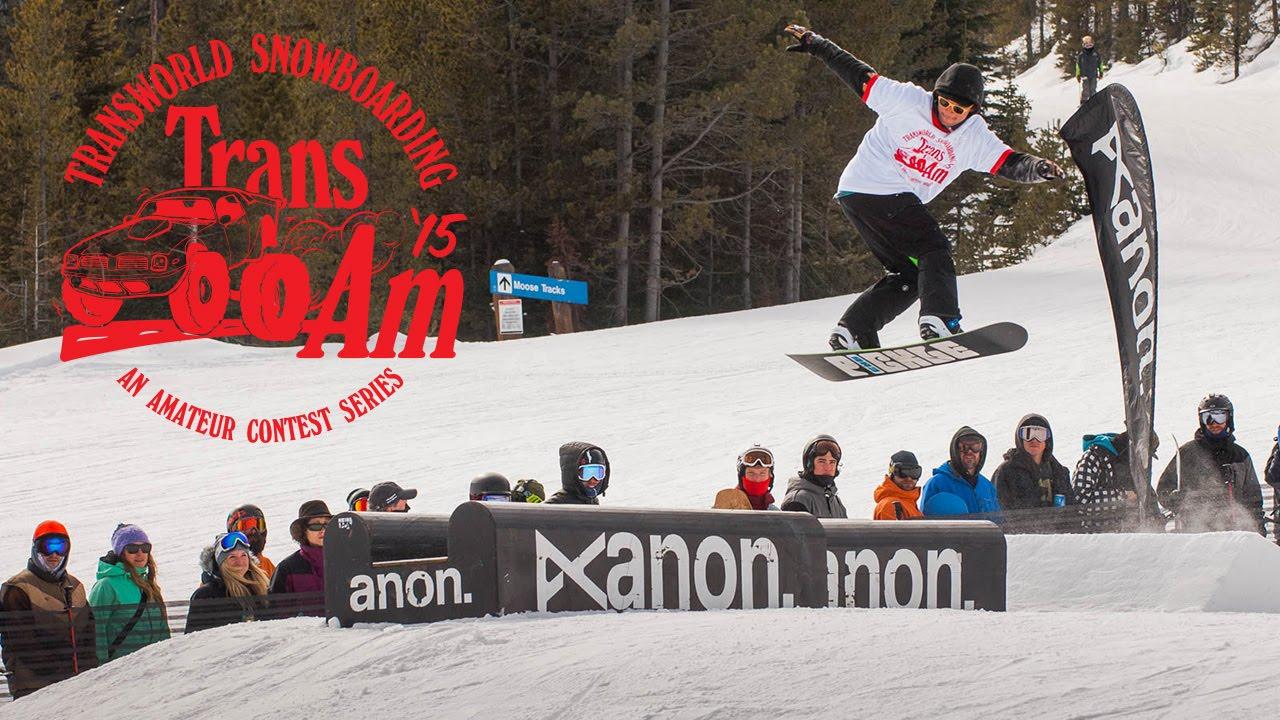 Trans am amateur snowboarding idea))))