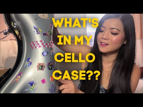 What's in my Cello Case? | Cellist Wendy Law