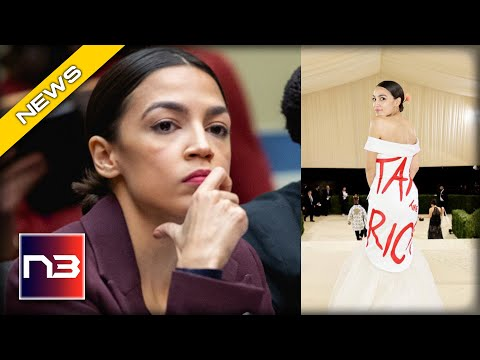 OOPSIE! AOC Gets EVEN More BAD NEWS After Her Political Stunt At The Met Gala