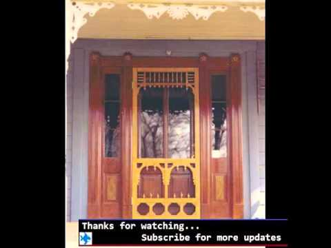 Screen Door For Front Door Screen Door Design Ideas Youtube