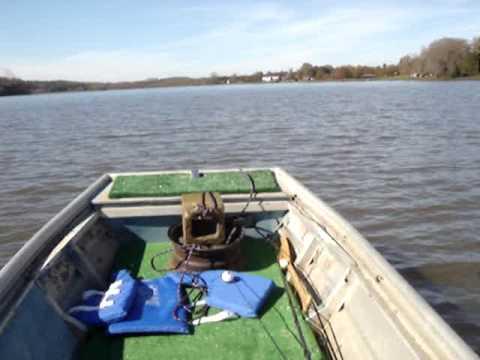 1974 Fisher Marine Jon Boat With 20hp Mercury