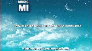 Raaz Ki Baten Likhi Aur Khat Khula Rahne Diya