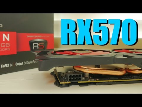 XFX AMD Radeon RX 570 4GB Review 2018