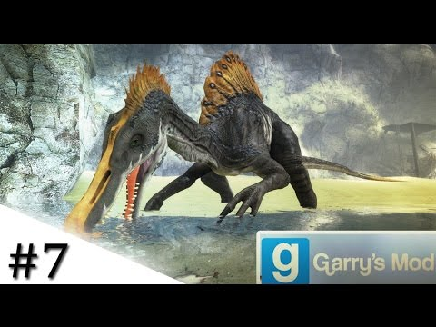 Garry's Mod: Spinosaurus Fishes For Prey | #7