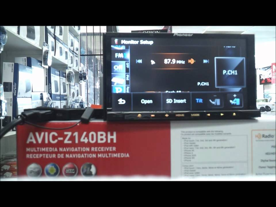 maxresdefault pioneer avic z140bh demo youtube pioneer avic z140bh wiring diagram at bayanpartner.co