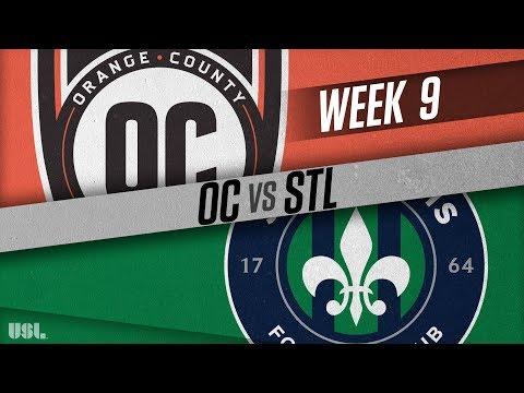 Orange County SC vs Saint Louis FC: May 12, 2018
