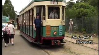 Trams - Steam loco - flxible clipper.wmv