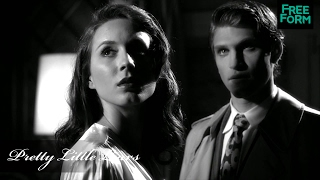 "Pretty Little Liars - The Costumes in the Black & White Episode ""Shadow Play"" (4x19)"