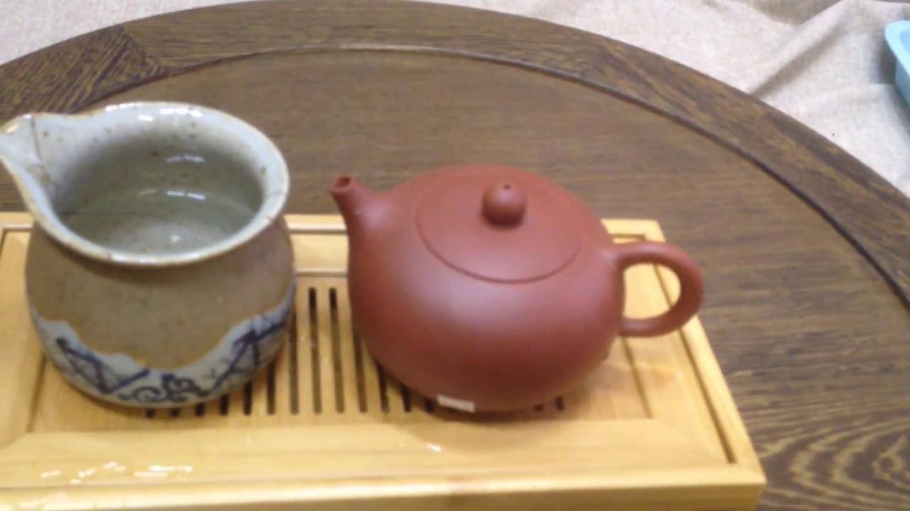 Чайник # 4356, исинская глина, 220 мл.|Teapot # 4356, yixing clay .