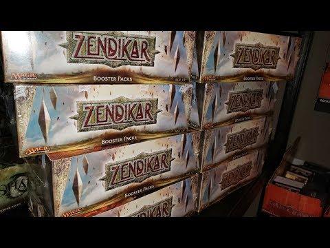 2008 ORIGINAL ZENDIKAR = The HUNT For PRICELESS TREASURE