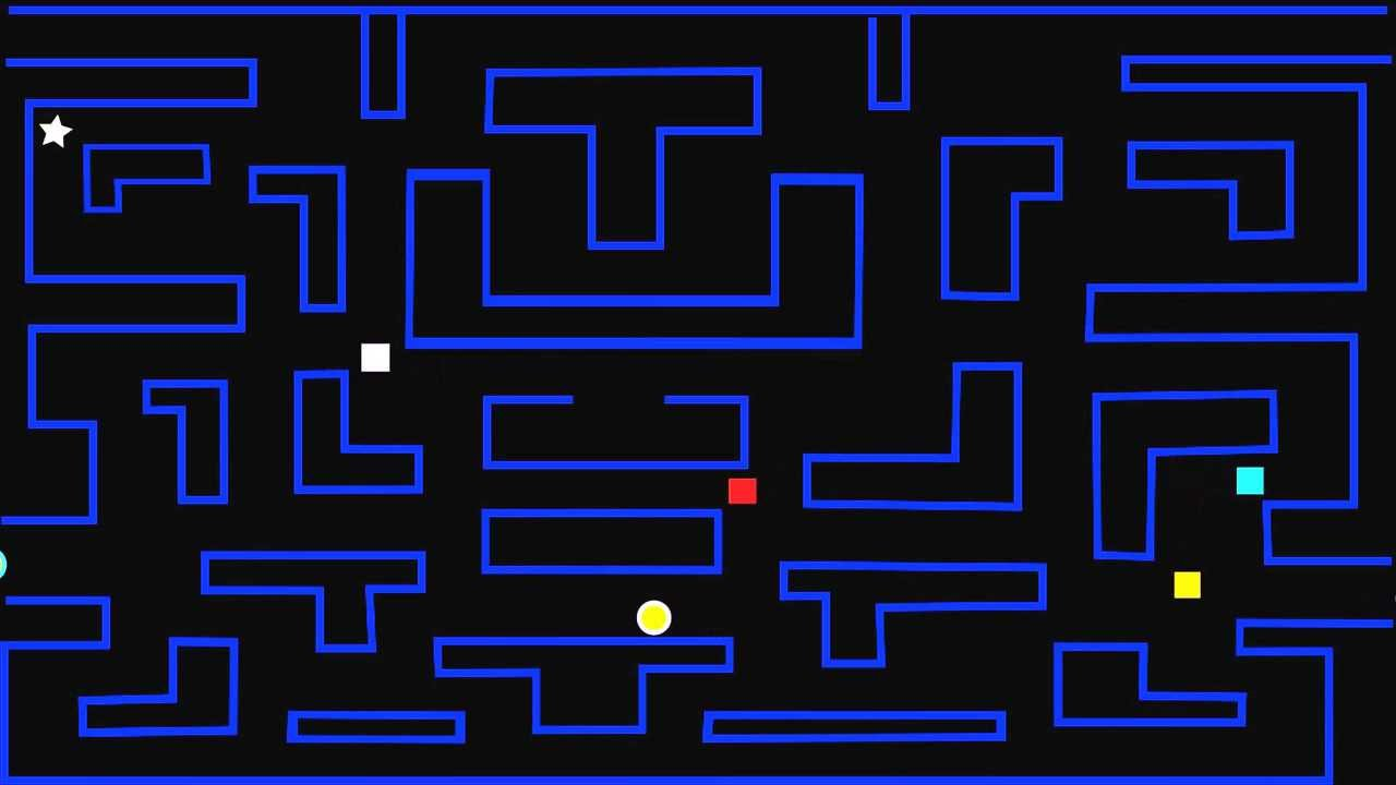 Fabulous Pac Man Maze Coloring Pages With Pac Man Coloring Pages: PacMan Maze Animation
