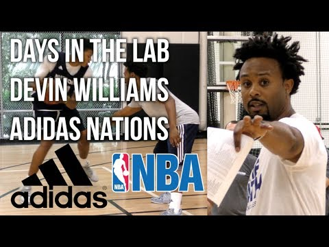 Day(s) In The Lab - Devin Williams Training NBA/HS Players At adidas Nations 6/28/17-6/30/17
