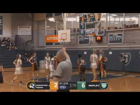 Germantown Academy vs The Shipley School Girls Basketball (SWAMP NIGHT) (2019-01-25)