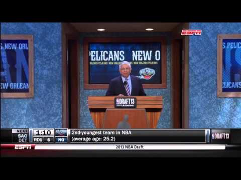 Commisioner Stern isn't impressed by the boos at the 2013 NBA Draft