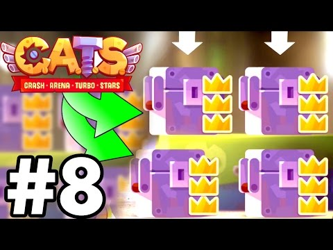 IMPOSSIBLE CHEST UNBOXING..!!! | C.A.T.S | Crash Arena Turbo Stars Gameplay Part 8