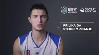 Mirza Velić  Stipendista i kapiten KK BURCH tima