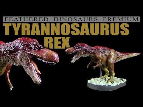 Colorata ® Tyrannosaurus Rex - Feathered Dinosaurs Premium - Unboxing Teil 4