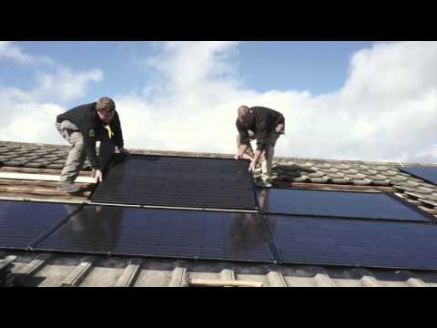 Solar Power System Installation: Residential