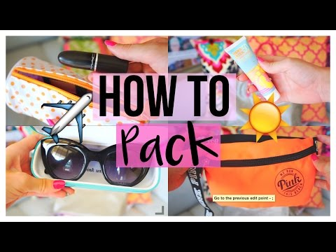 How To Pack For Vacation | Travel Essentials!