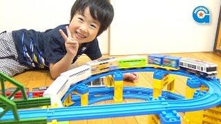 限定プラレール 京阪電車600形パト電【がっちゃん5歳】プラレール博のおみやげ