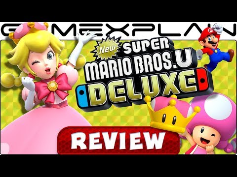 New Super Mario Bros. U Deluxe - REVIEW (Nintendo Switch)