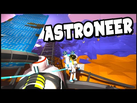 EPIC Power Glitch & MASSIVE Solar Panels! - Astroneer Gameplay